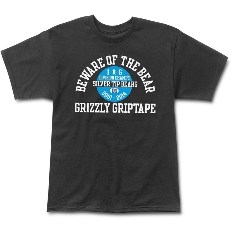 triko GRIZZLY - Divison Champs Tee Black (BLACK)
