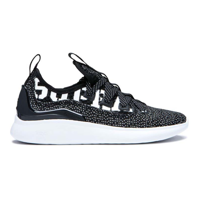 boty SUPRA - Factor Black/White-White (009)
