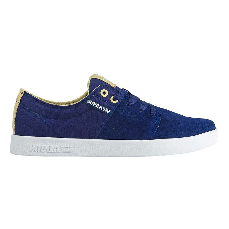 boty SUPRA - Stacks Ii Navy Khaki - White (446)