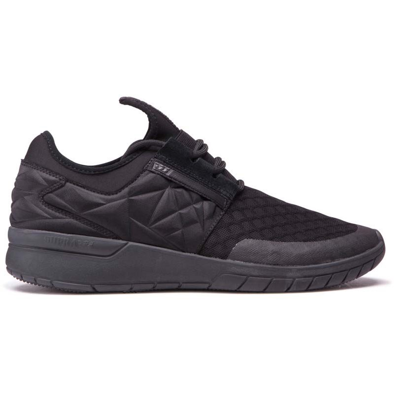 boty SUPRA - Flow Run Evo Black/Black (001)