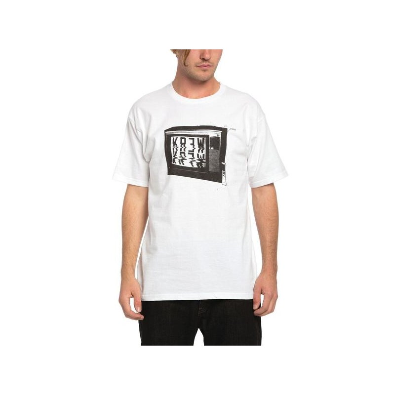 triko KREW - Tune Out Regular Tee White (100)