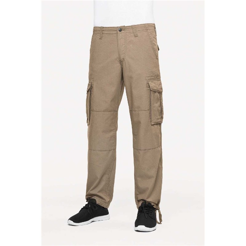 kalhoty REELL - Cargo Pant Ripstop Taupe (TAUPE)