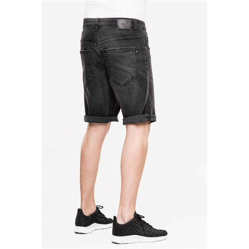 kraťasy REELL - Rafter 2 Black Denim (BLACK DENIM)