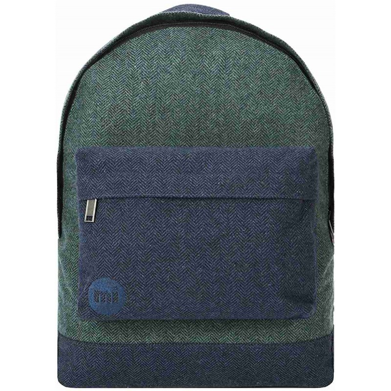 batoh MI-PAC - Herringbone Mix Green/Navy (043)