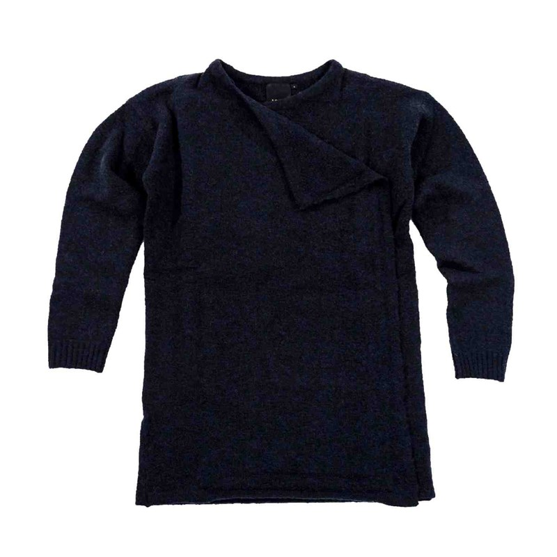 svetr ICHI - Merci Knitted cardigan Total Eclipse (14044)