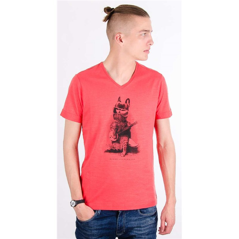 triko BLEND - T-shirt Cranberry Red 73815 (73815)