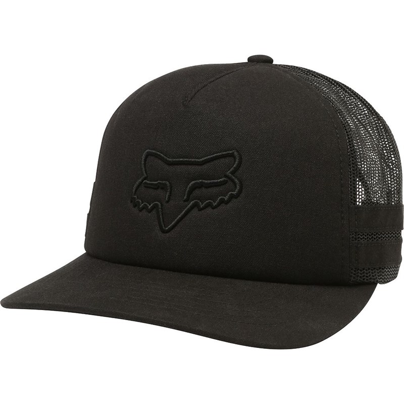 kšiltovka FOX - Head Trik Trucker Blk (001)
