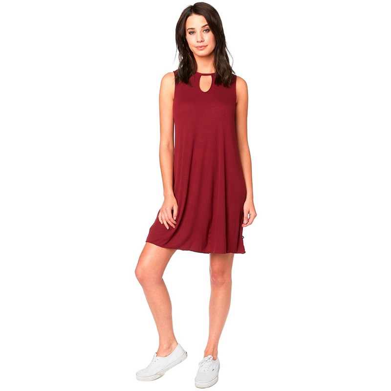 šaty FOX - Bay Meadow Dress Cranberry (527)