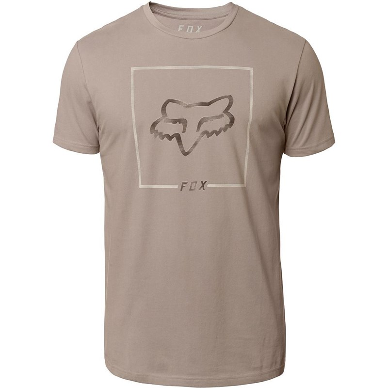 triko FOX - Chapped Ss Airline Tee Steel Grey (172)
