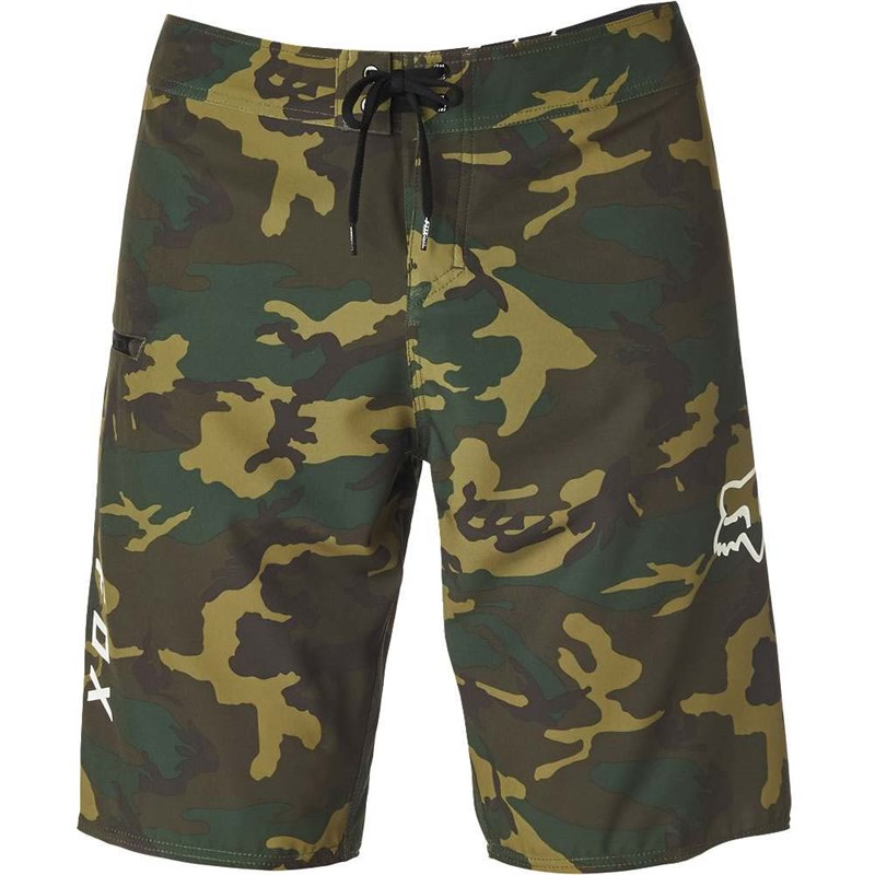 koupáky FOX - Overhead Camo Stretch Bs Green Camo (031)