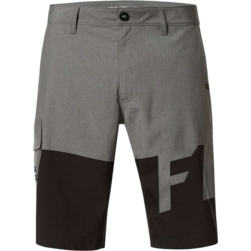 kraťasy FOX - Essex Tech Print Short Heather Graphite (185)