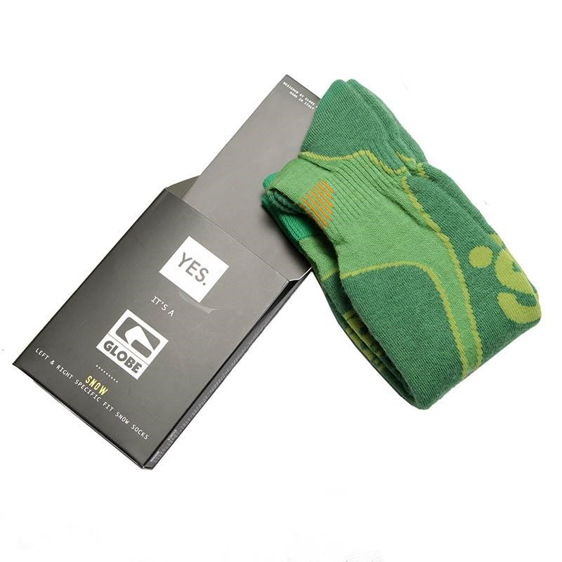 ponožky GLOBE - Yes/Globe Park Rat Sock Lime (LIME)