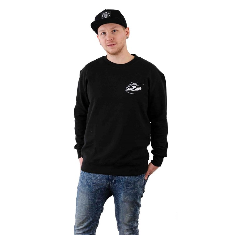 mikina SNOWBITCH - Tag Star Crew Black (BLACK)