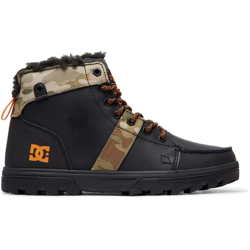 boty DC - Woodland Black/Multi (KMI)