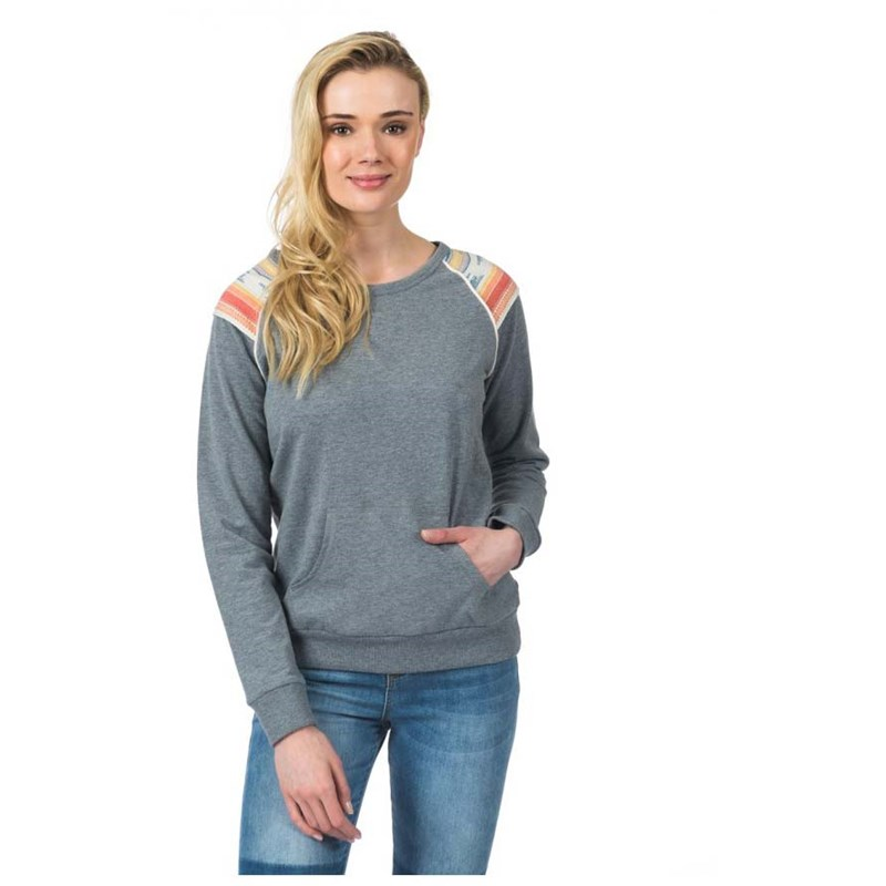 mikina RIP CURL - Itcha Fleece Cement Marle (4880)
