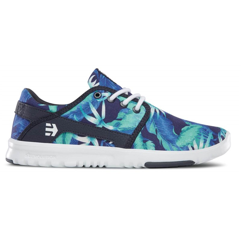 boty ETNIES - Girl Scout Wmns Blue/White/Navy (443)