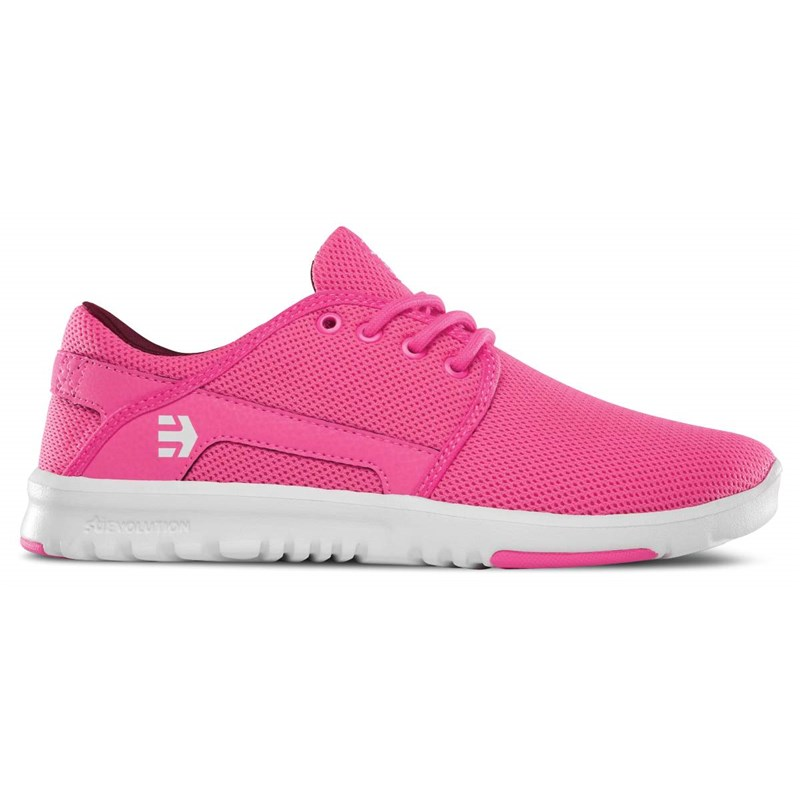 boty ETNIES - Girl Scout Wmns Pink/White/Pink (682)