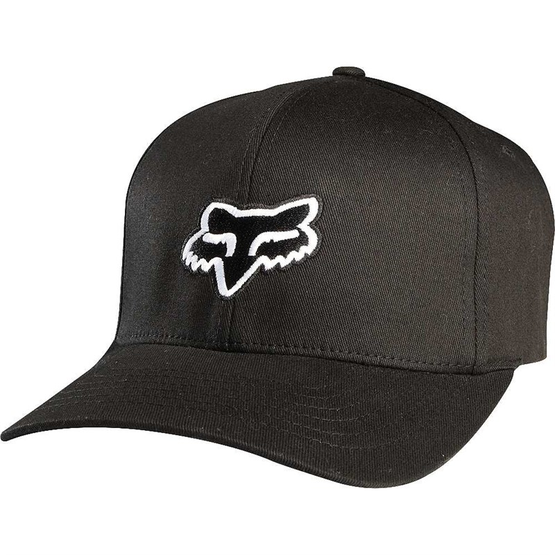 kšiltovka FOX - Legacy Flexfit Hat Black (001)