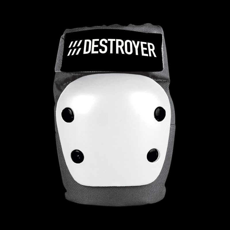 chránič loktů DESTROYER - Rec Elbow Grey/White (GRW)