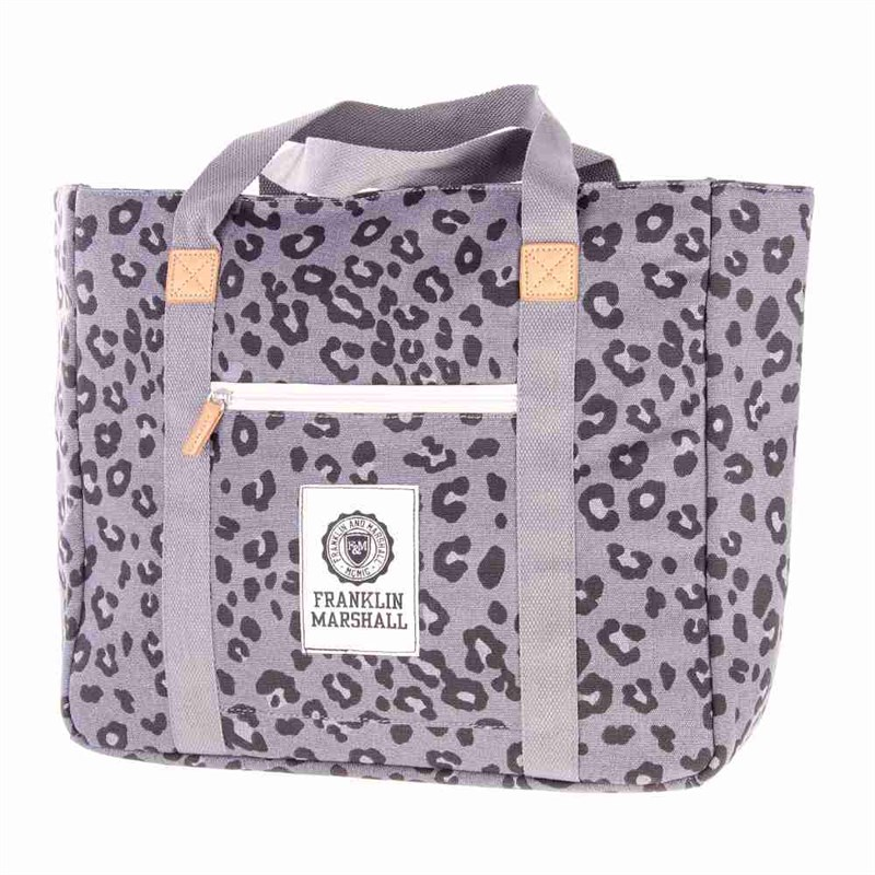 taška FRANKLIN & MARSHALL - Fashion shopper - leopard all over (71)