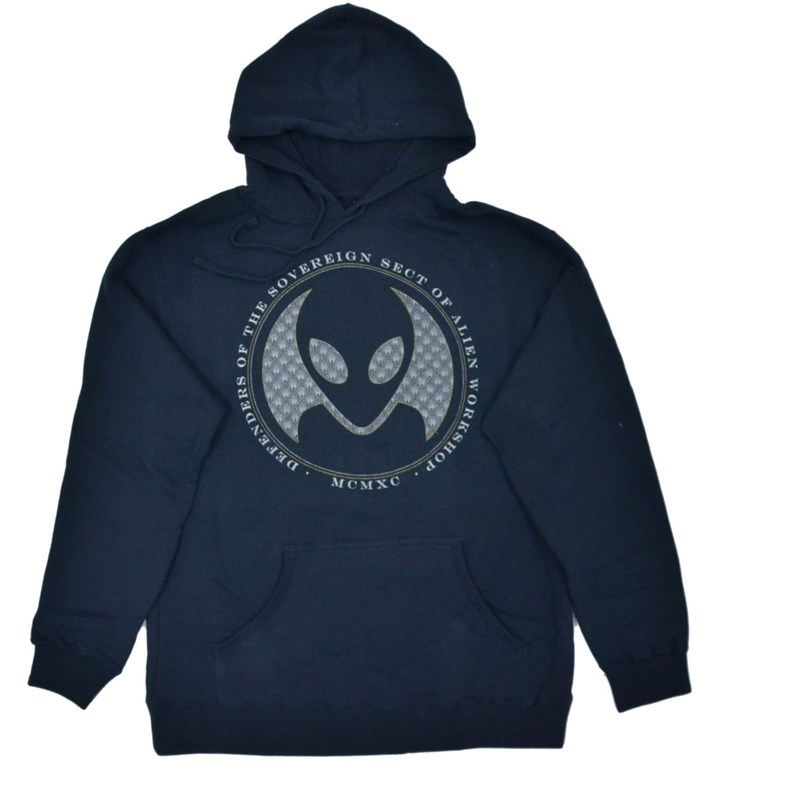 mikina ALIEN WORKSHOP - Defenders Navy Modra (MODRA)