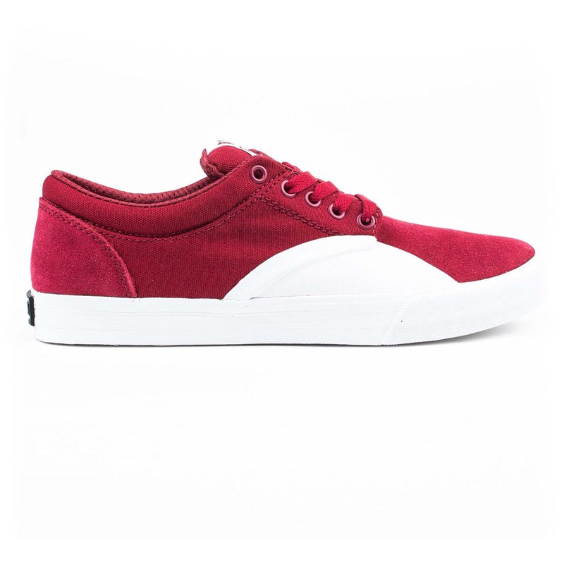 boty SUPRA - Chino Dark Ruby/White (641)