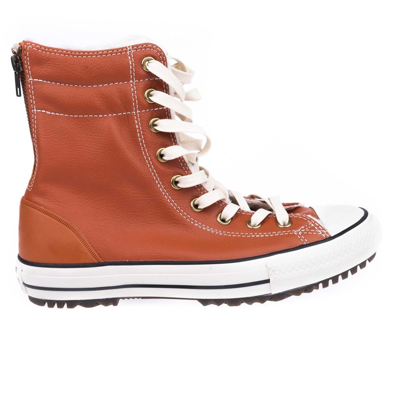 boty CONVERSE - Chuck Taylor All Star Hi-Rise Boot Brown (BROWN)