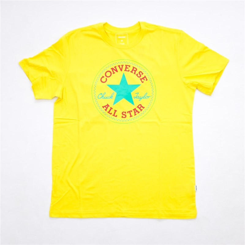 triko CONVERSE - Core Seasonal Cp Tee Fresh Yellow (FRESH YELLOW)