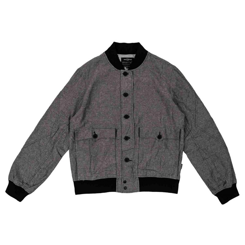 bunda GRIZZLY - FACULTY JACKET Black (BLACK)