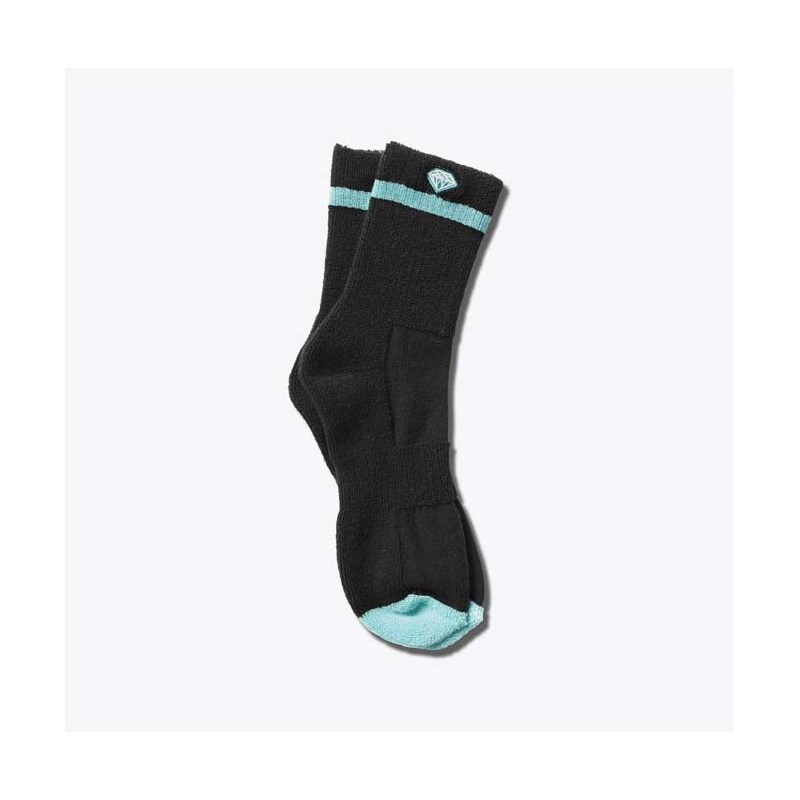 ponožky DIAMOND - Pro Diamond Socks Black/Diamond Blue (BKDB)
