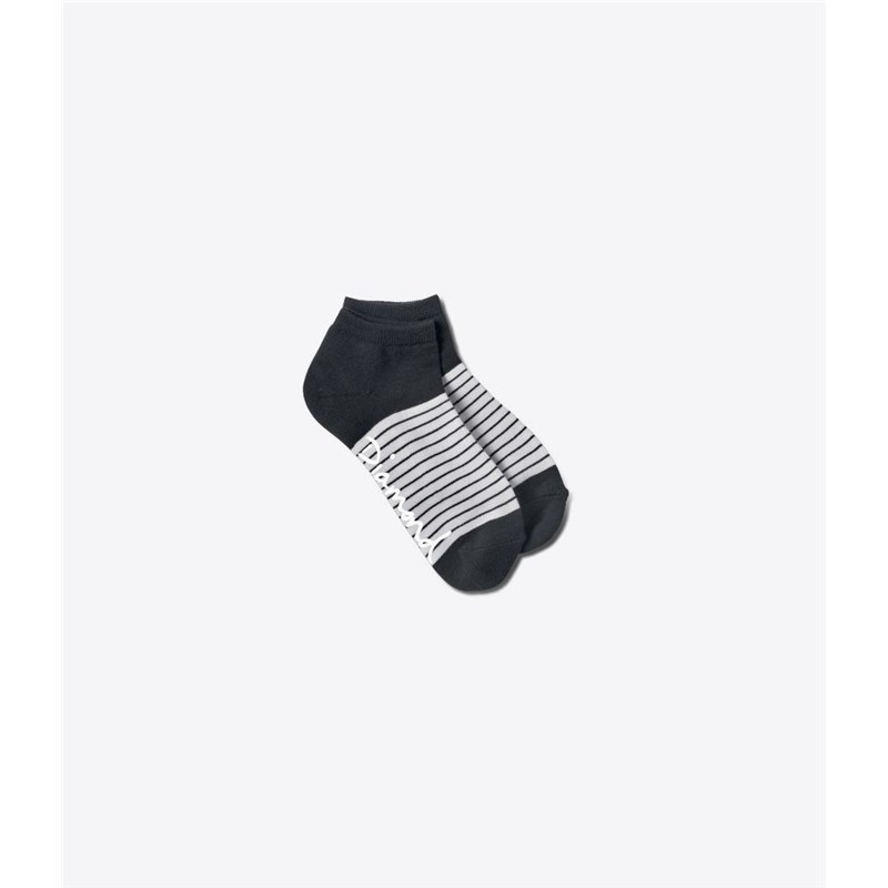 ponožky DIAMOND - Hamilton Low Sock Black/White (BKWH)