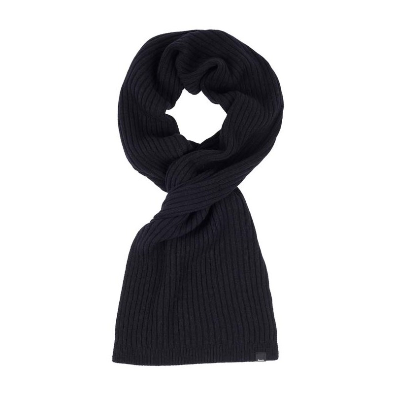 šála BENCH - Rib Scarf Black Beauty (BK11179)