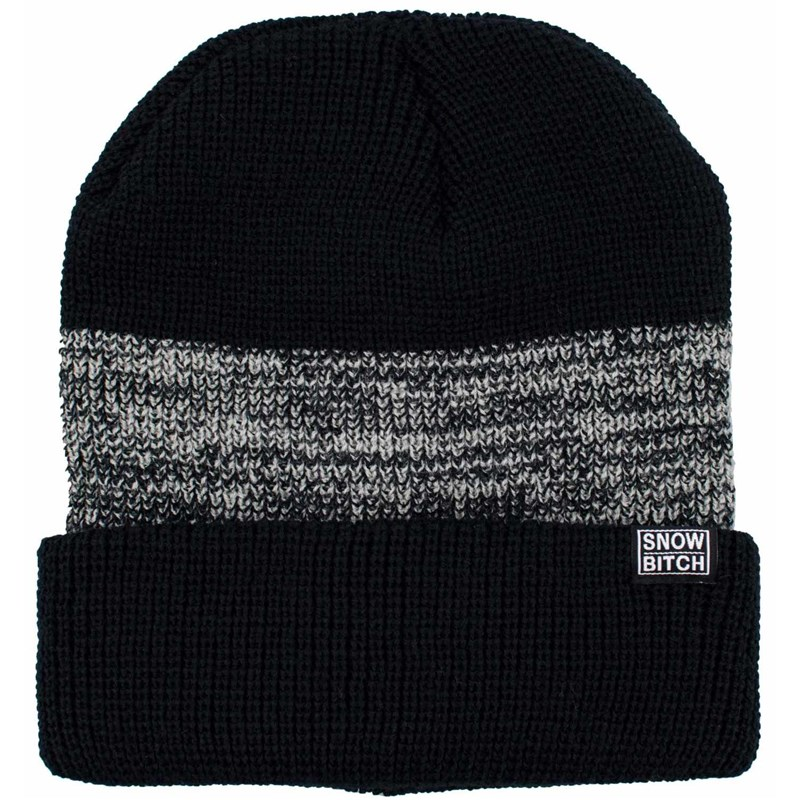 kulich SNOWBITCH - Černošedý (BLACK-GREY)