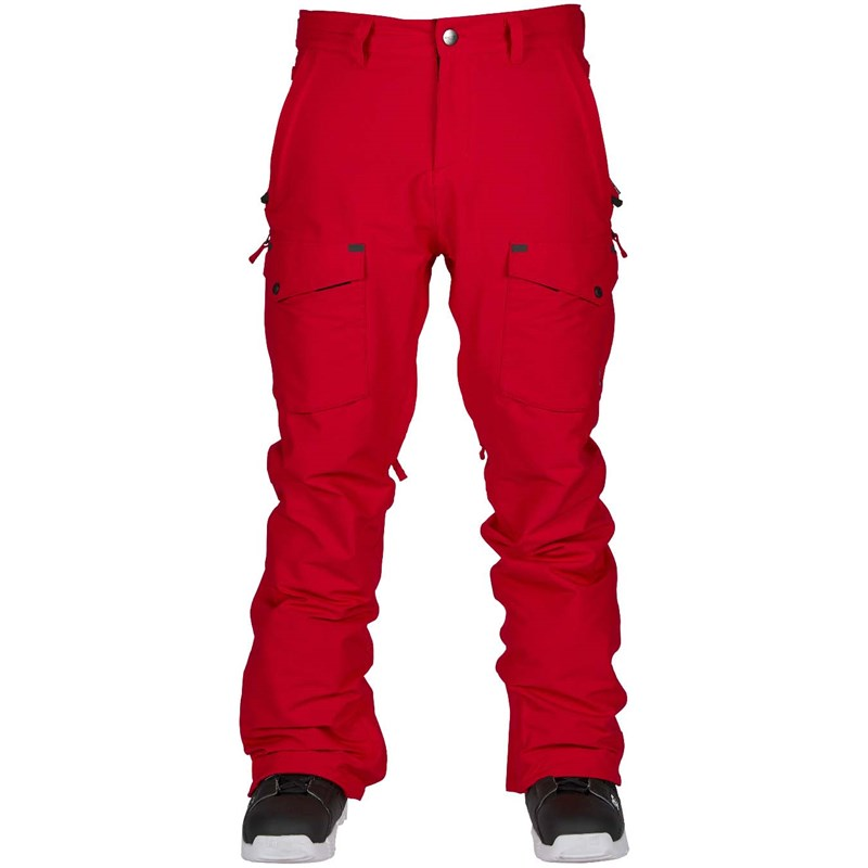 kalhoty BONFIRE - Zone Stretch Pant Red (RED)