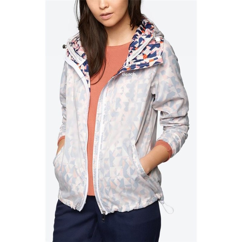 bunda BENCH - Relaxed Windbreaker Bright White  (WH001)