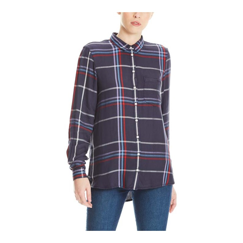 košile BENCH - Light Flannel Check Shirt Eclipse Check (P1146)
