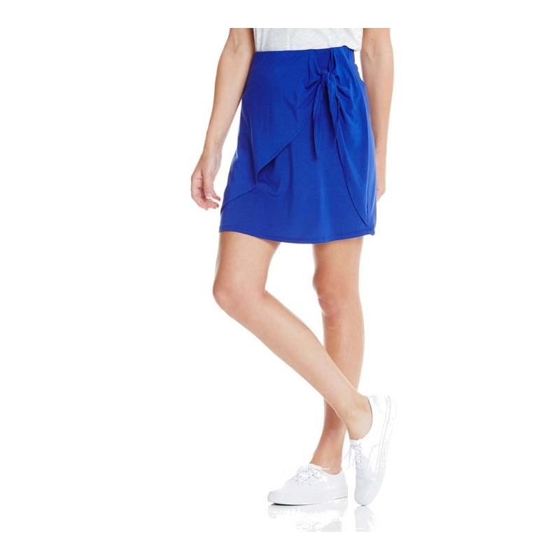 sukně BENCH - Front Knoted Skirt Yves Blue (BL11216)