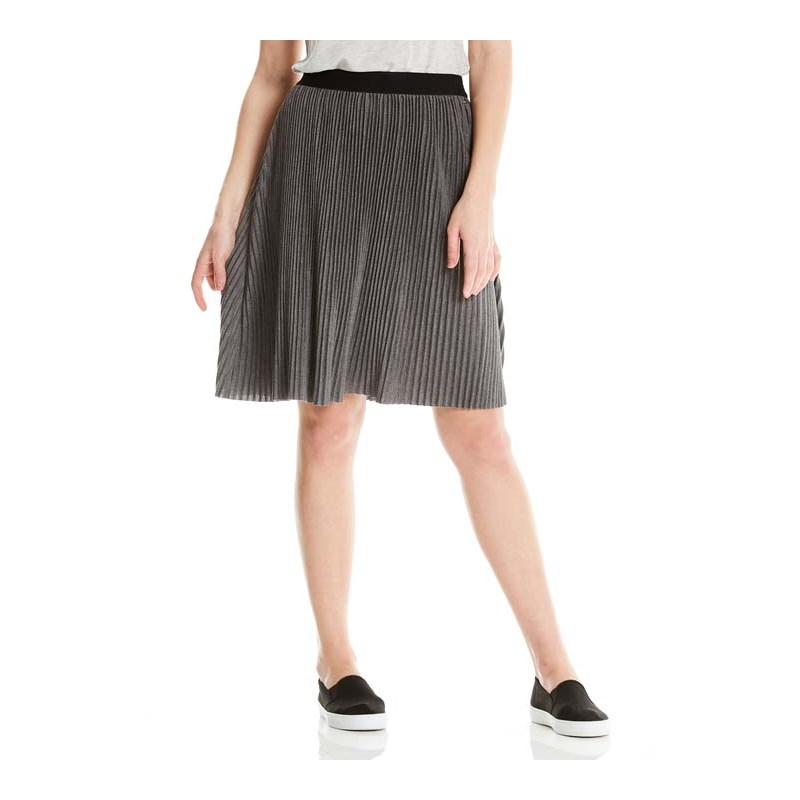 košile BENCH - Pleated Jersey Skirt Winter Antracite Marl (MA1055)