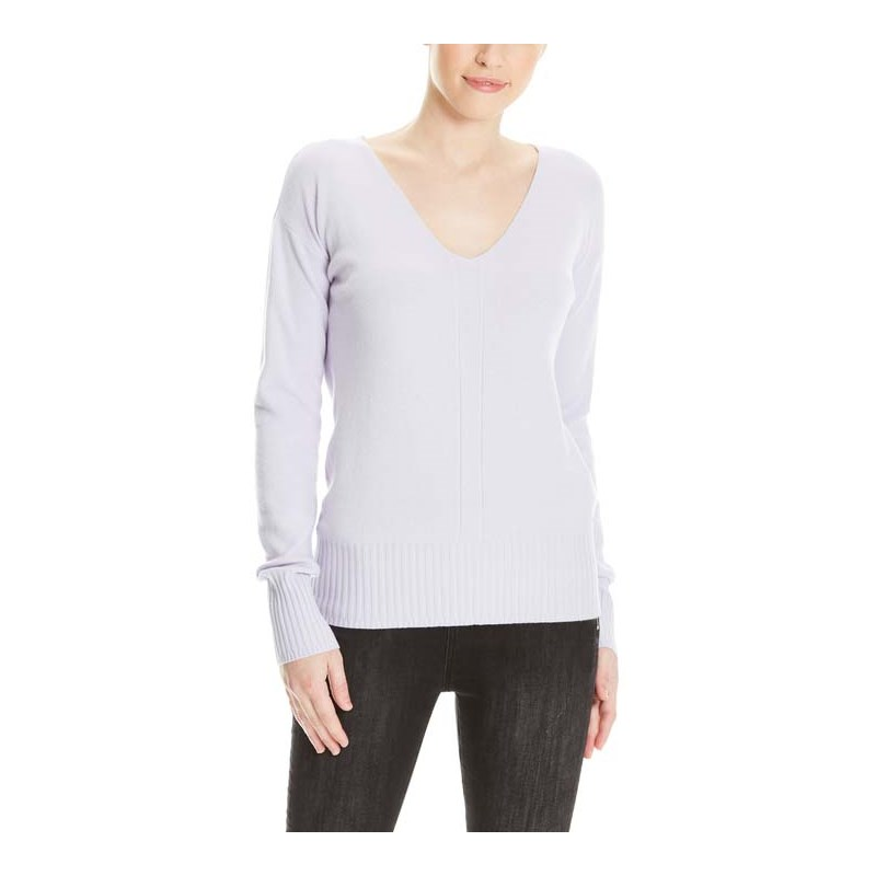 mikina BENCH - Basic V-Neck Jumper Orchid Petal (PU070)