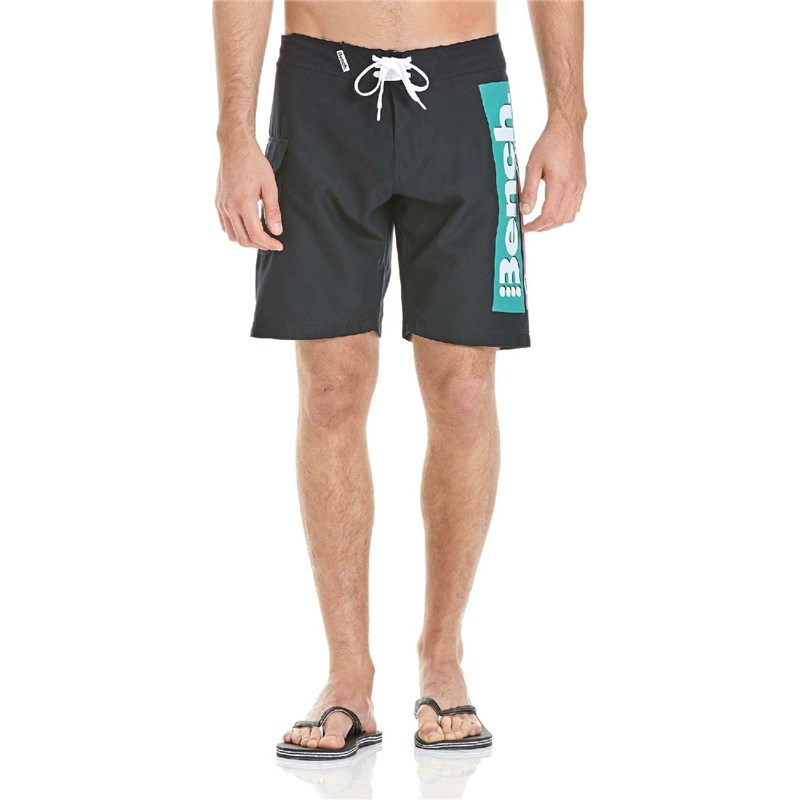 kraťasy BENCH - Shorts Black (BK022)