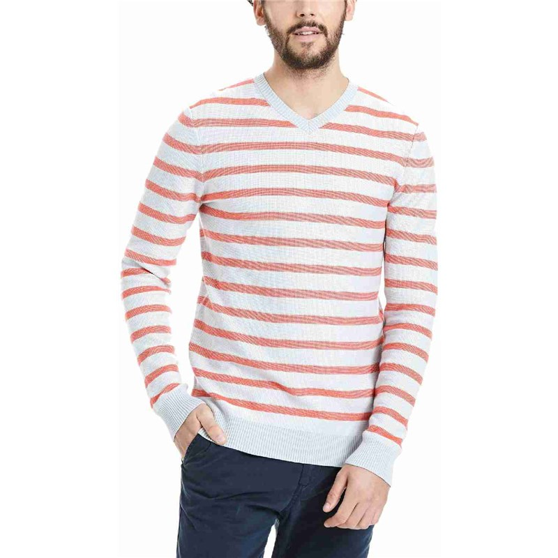 mikina BENCH - Knitwear Light Grey (GY003)