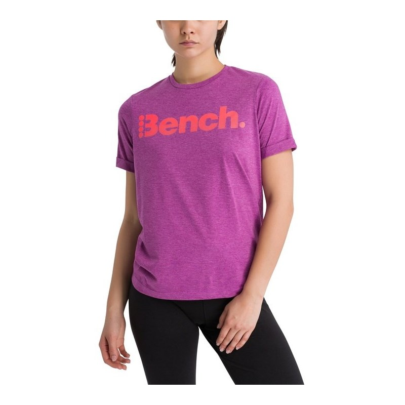 triko BENCH - Corp Tee Willowherb Marl (MA1114)