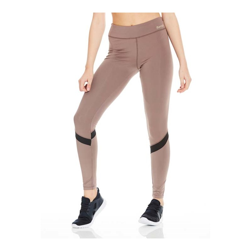 legíny BENCH - Wet Look Mix Leggins Grey (GY047)