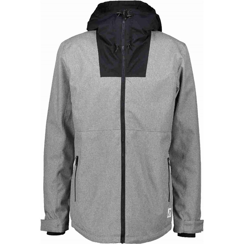 bunda CLWR - Block Jacket Grey Melange (801)
