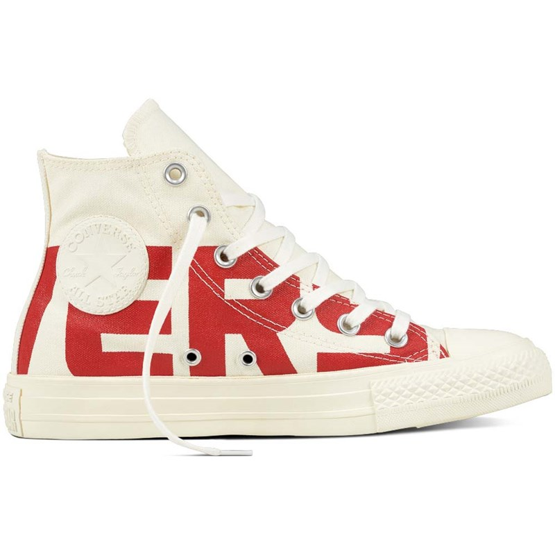 boty CONVERSE - Chuck Taylor All Star Natural/Enamel Red/Egret (NATURAL-ENAMEL RED-E)