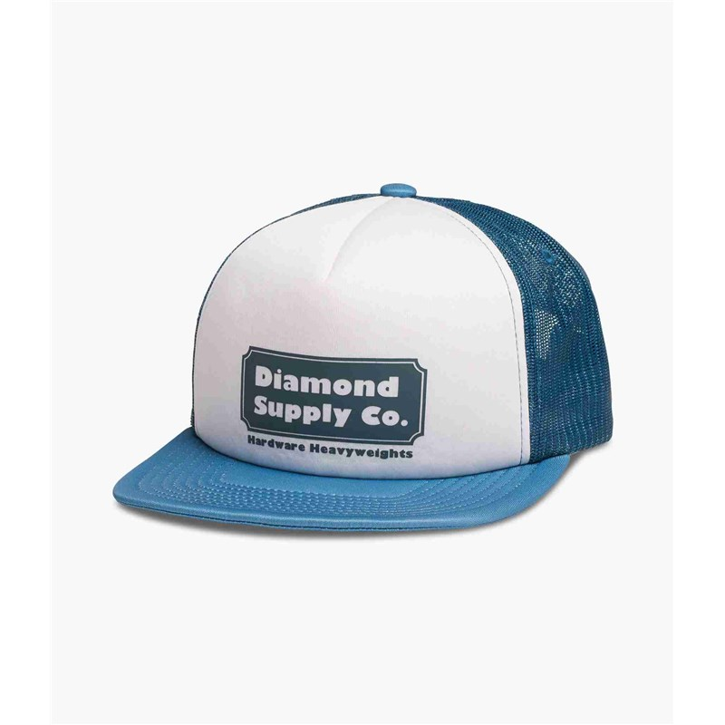 kšiltovka DIAMOND - Hardware Trucker Hat W/ Rope Navy (NVY)
