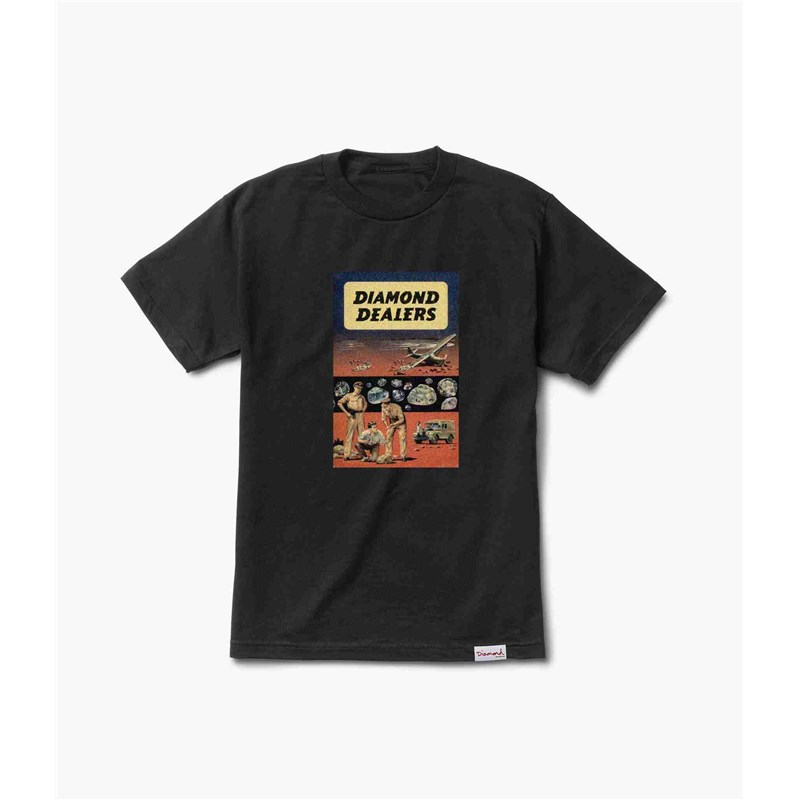 triko DIAMOND - Dealers Tee Black (BLK)