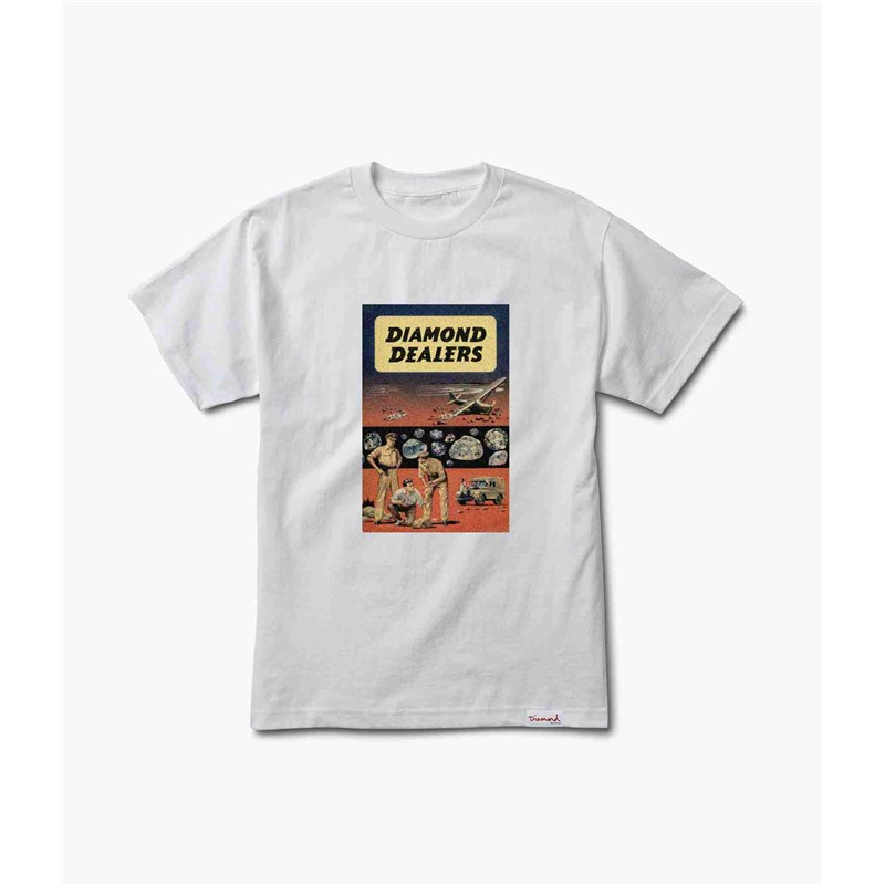 triko DIAMOND - Dealers Tee White (WHT)