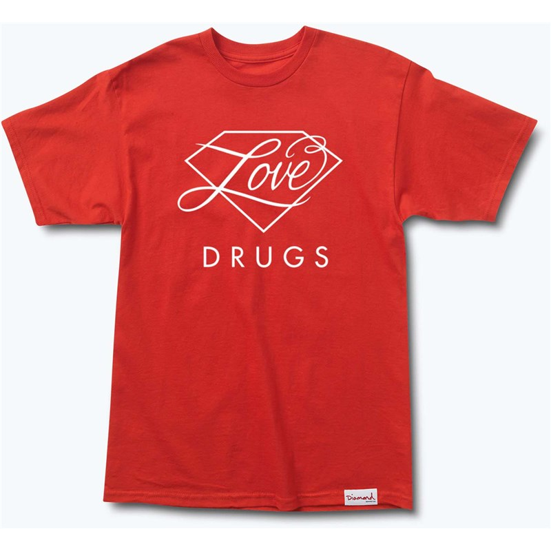 triko DIAMOND - True Love Tee Red (RED)