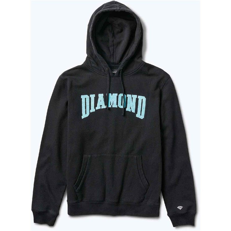 mikina DIAMOND - Conference Hoodie Black (BLK)
